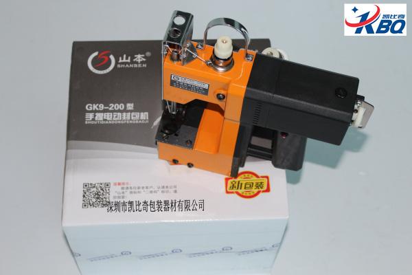 GK9-200山本牌缝包机 是日本生产的吗