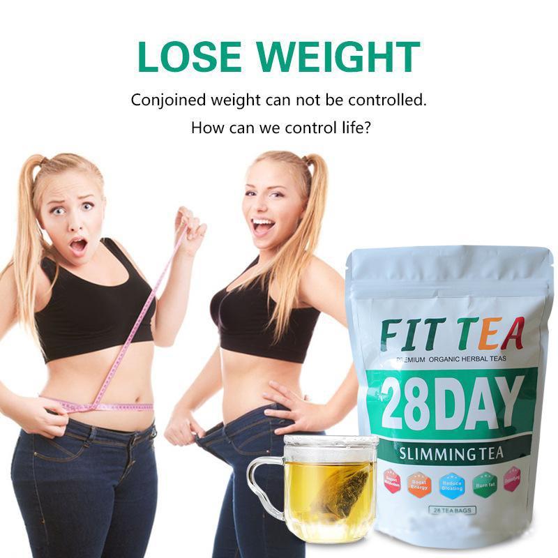 万松堂健康集团减肥排毒茶28天 slimming tea flat tummy fit tea