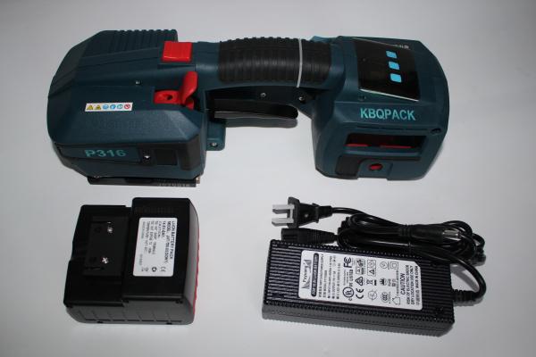 东莞无扣式粘接打包机,KBQPACK牌P316摩擦粘合捆扎机厂