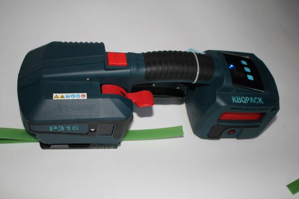 大容量锂电池P316打包机 适合工业连续式打包机