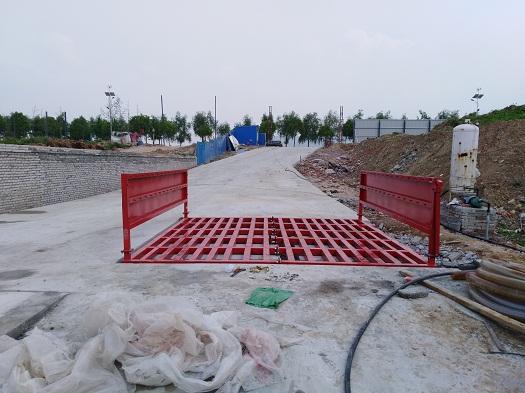 襄阳厂家直销全自动建筑工地重新平台 工程洗轮机 可定制尺寸