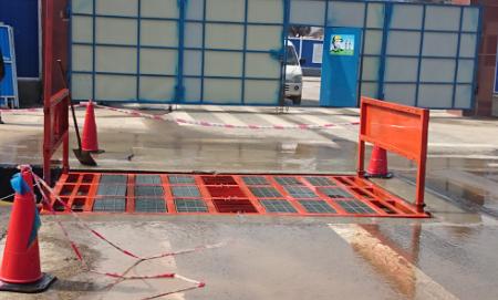 荆州长期供应大型车辆冲洗设备 建筑工程渣土车洗轮机 工地自助洗车机