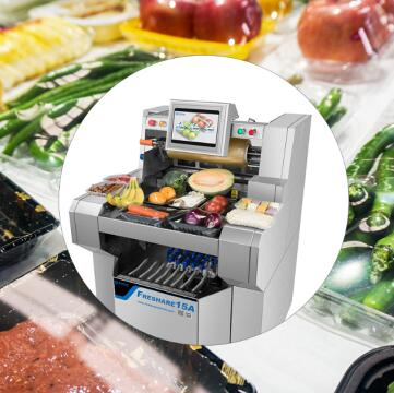 供应自动保鲜膜包装机,超市必备果蔬包装机