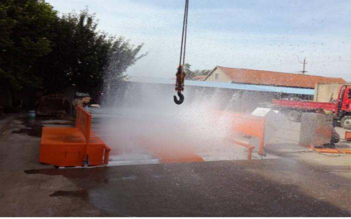 湘潭工地洗车设备/洁泰环保工程车辆自动洗车设备