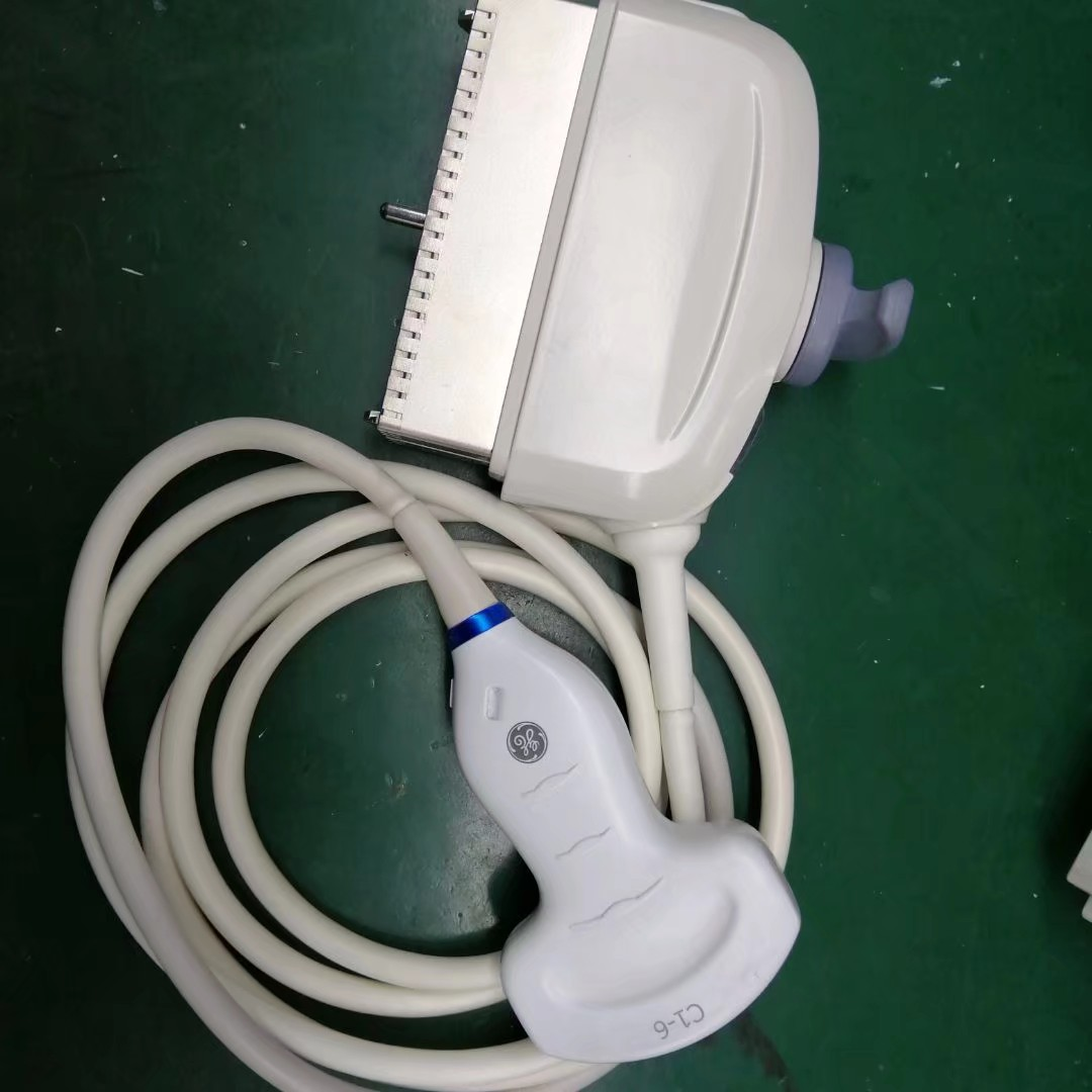 GE C1-6-D探头维修,换声头,换电缆线