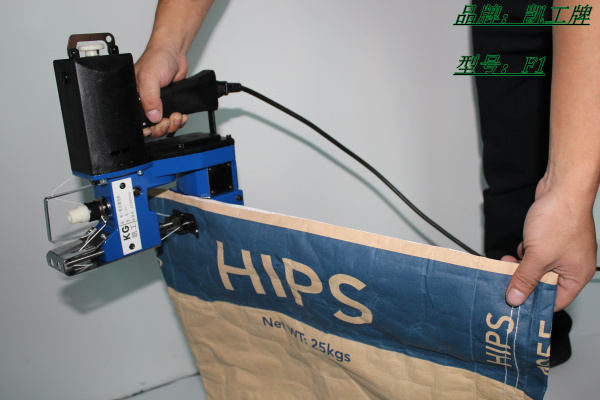 广西F1手持式缝包机 专门针对 厚料袋缝口使用