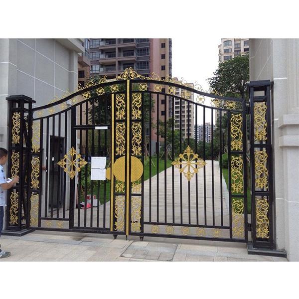 天津安装铁艺大门 定做铁艺大门